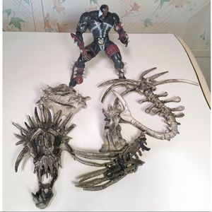 McFarlane Other - McFarlane Spawn Series 4 / Cy-Gor / Exo-Skeleton